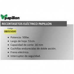 Recortasetos Papillon 500...